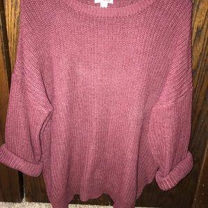 Cute big sweater